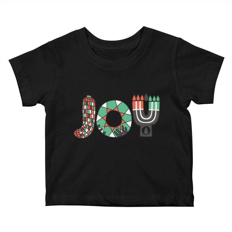 JOY (Kwanzaa) Kids Baby T-Shirt by Hi Hello Greetings