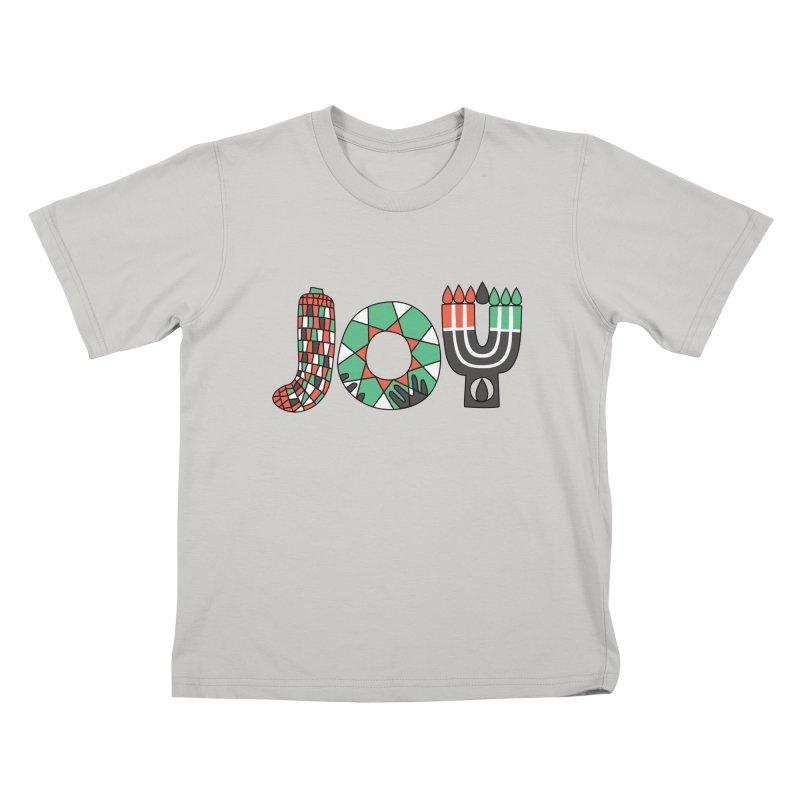 JOY (Kwanzaa) Kids T-Shirt by Hi Hello Greetings