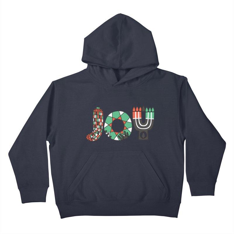 JOY (Kwanzaa) Kids Pullover Hoody by Hi Hello Greetings