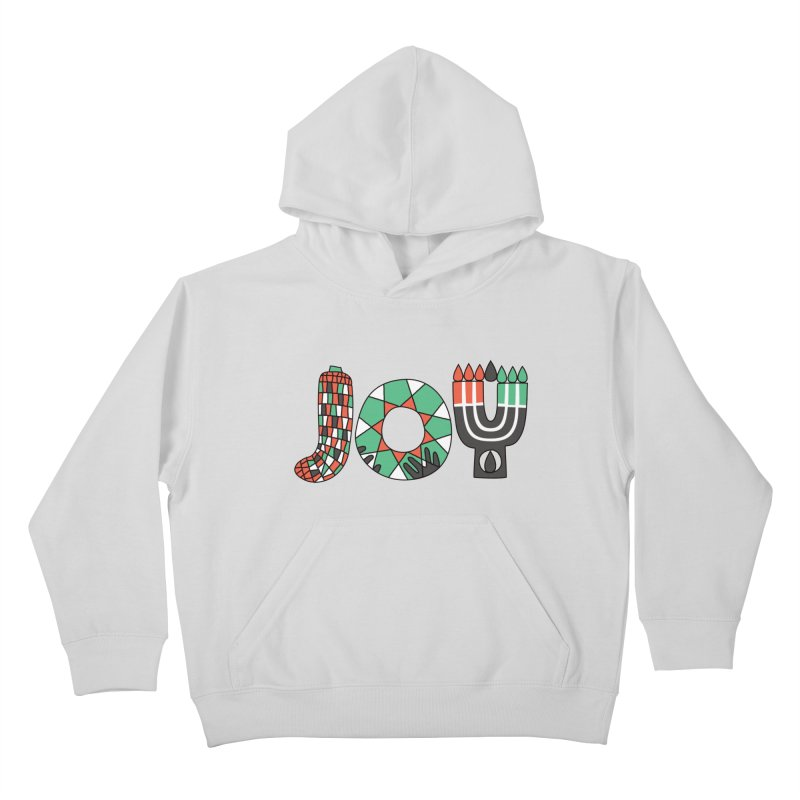 JOY (Kwanzaa) Kids Pullover Hoody by Hi Hello Greetings