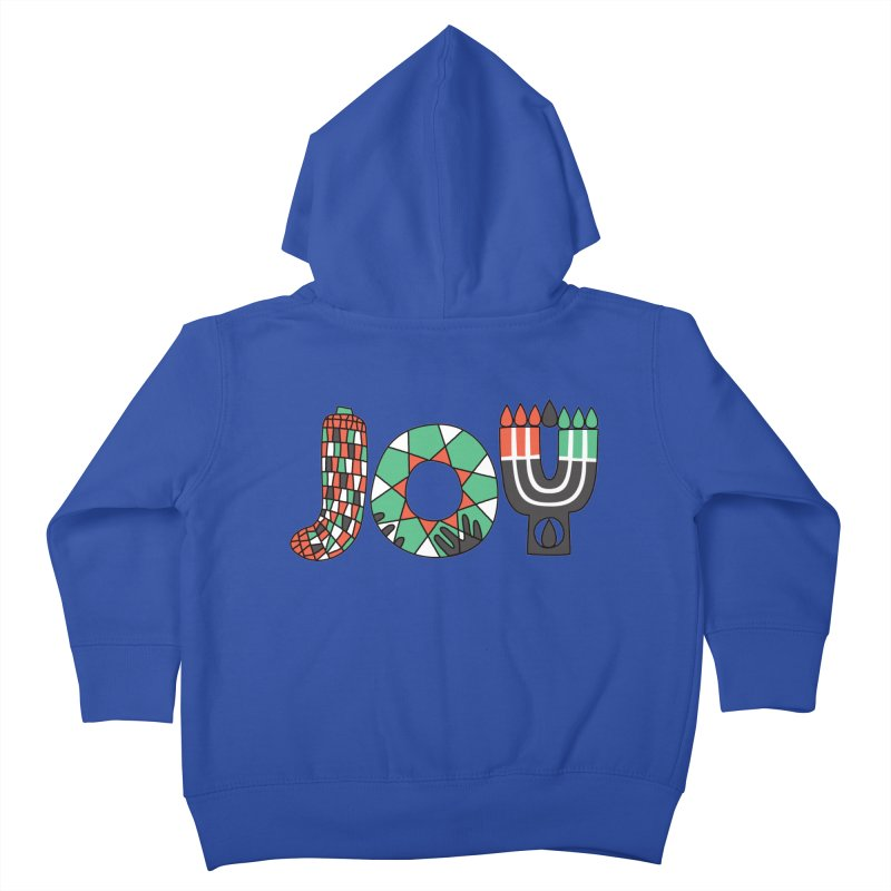 JOY (Kwanzaa) Kids Toddler Zip-Up Hoody by Hi Hello Greetings