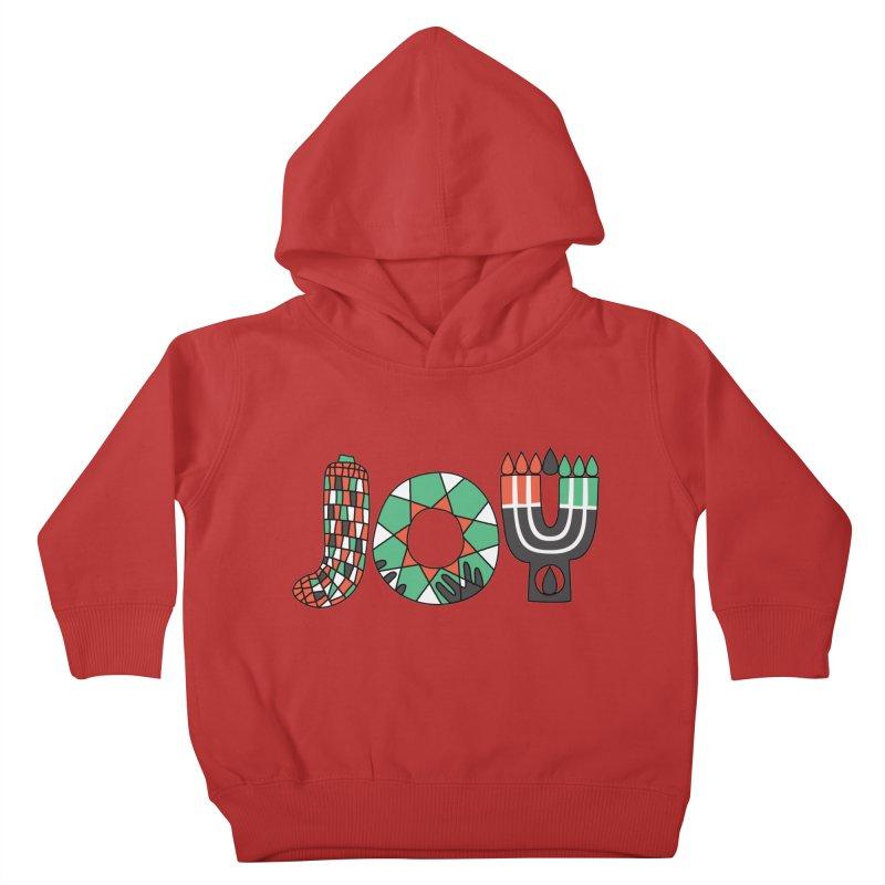 JOY (Kwanzaa) Kids Toddler Pullover Hoody by Hi Hello Greetings