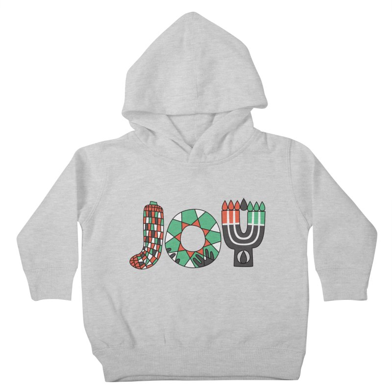 JOY (Kwanzaa) Kids Toddler Pullover Hoody by Hi Hello Greetings