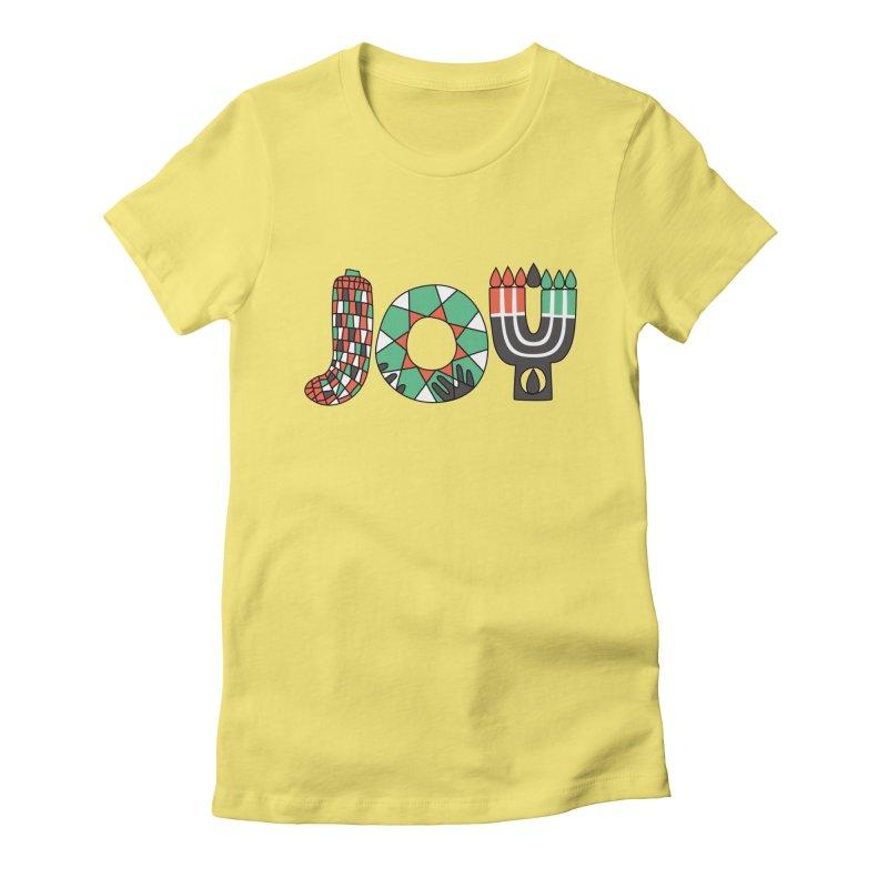 JOY (Kwanzaa) Women's T-Shirt by Hi Hello Greetings