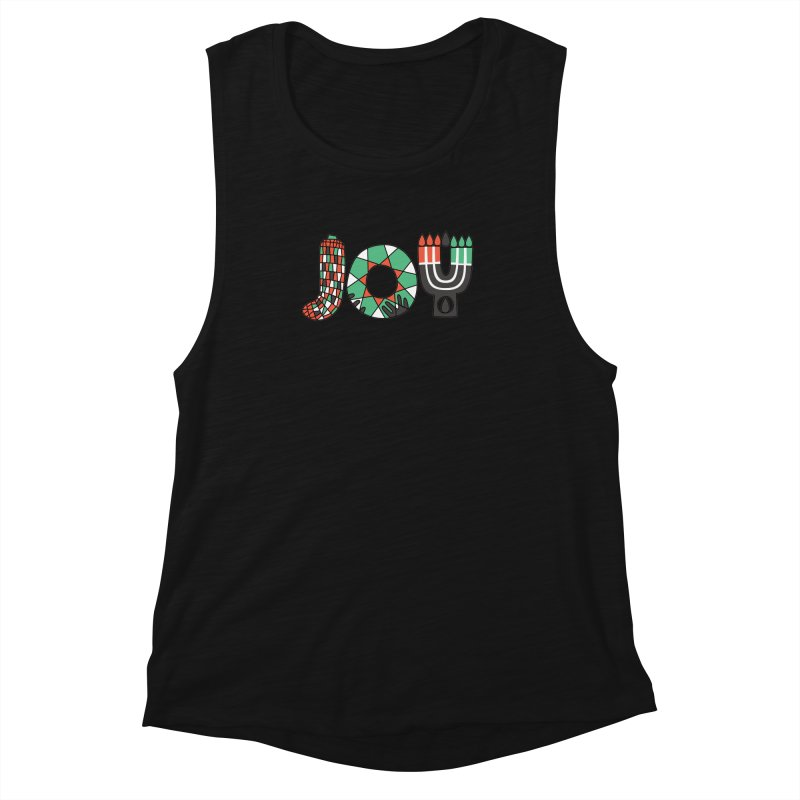 JOY (Kwanzaa) Women's Muscle Tank by Hi Hello Greetings