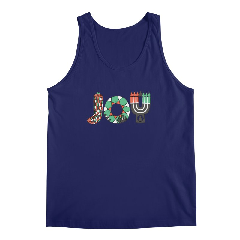 JOY (Kwanzaa) Men's Regular Tank by Hi Hello Greetings