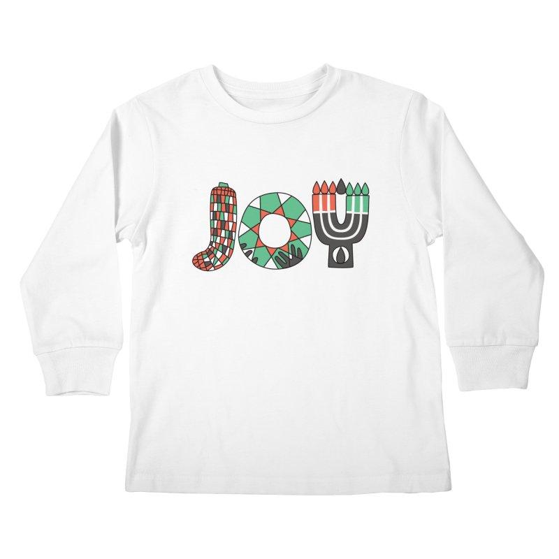 JOY (Kwanzaa) Kids Longsleeve T-Shirt by Hi Hello Greetings