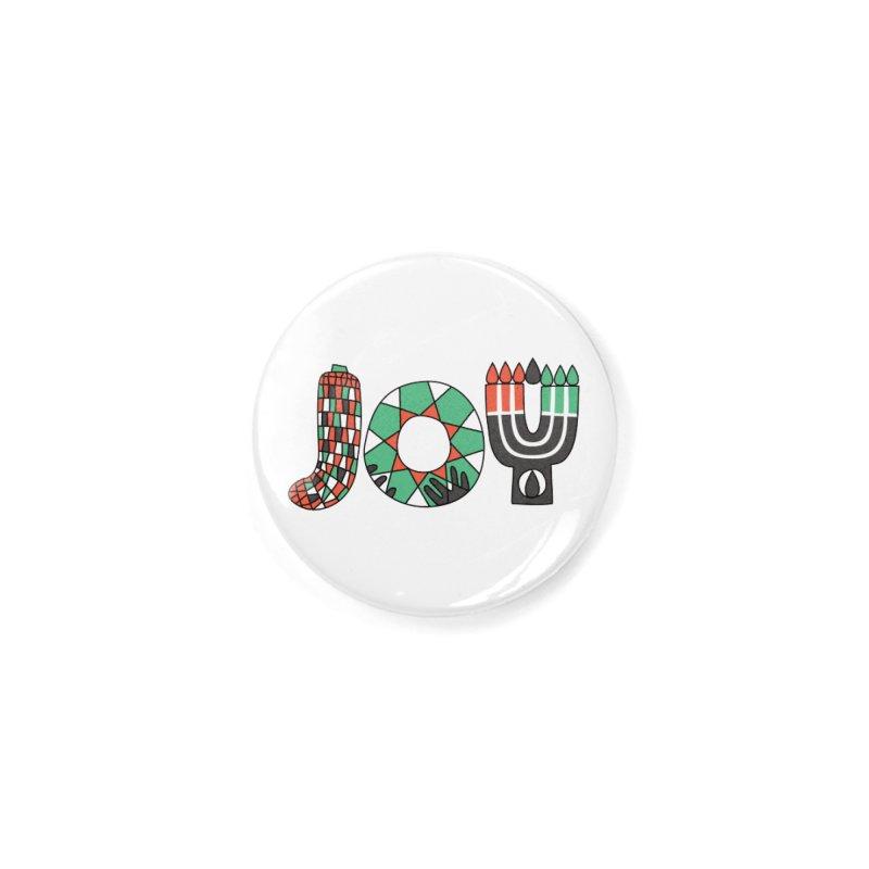 JOY (Kwanzaa) Accessories Button by Hi Hello Greetings