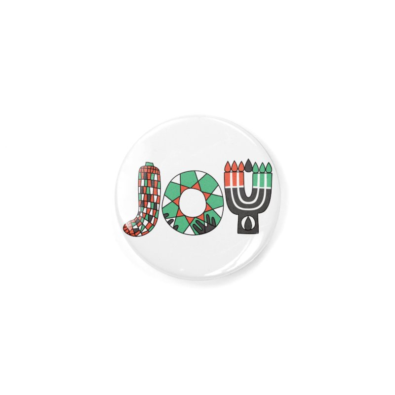JOY (Kwanzaa) Accessories Button by Hi Hello Greetings