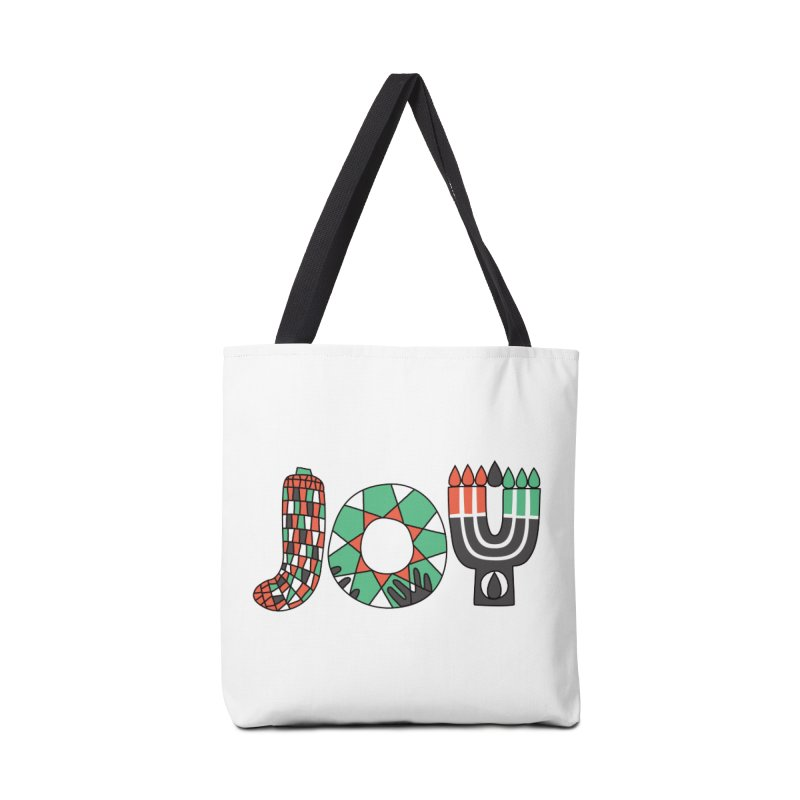 JOY (Kwanzaa) Accessories Tote Bag Bag by Hi Hello Greetings