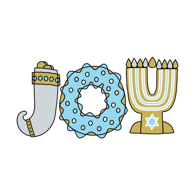 JOY (Hanukkah) by Hi Hello Greetings