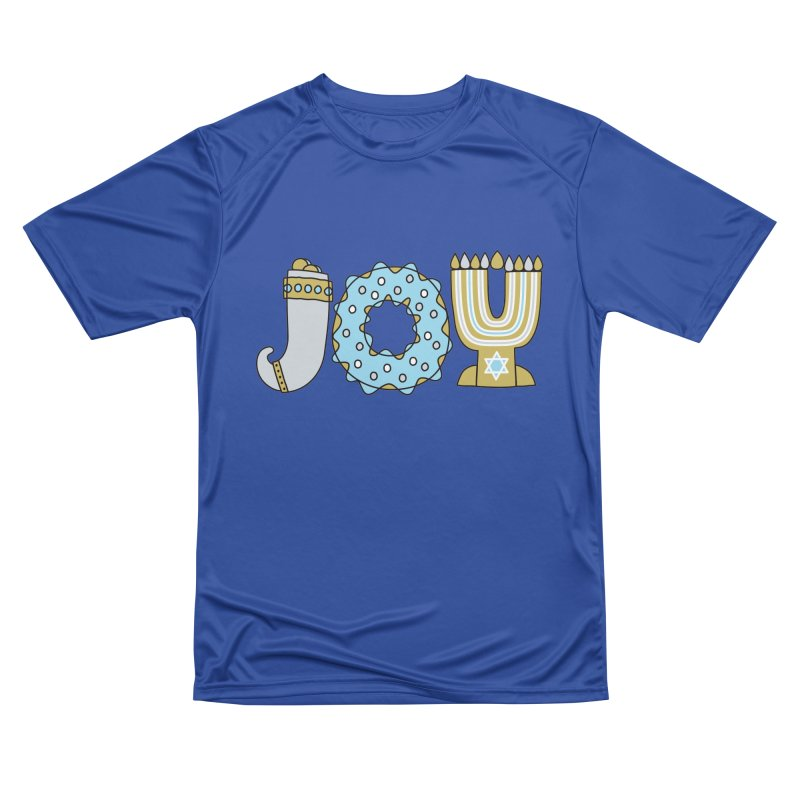 JOY (Hanukkah) Women's Performance Unisex T-Shirt by Hi Hello Greetings