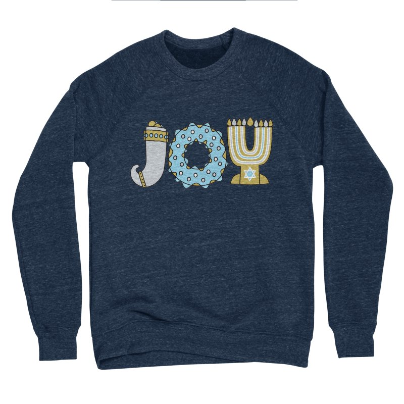 JOY (Hanukkah) Women's Sponge Fleece Sweatshirt by Hi Hello Greetings