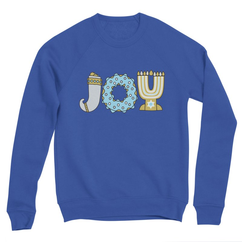 JOY (Hanukkah) Men's Sponge Fleece Sweatshirt by Hi Hello Greetings