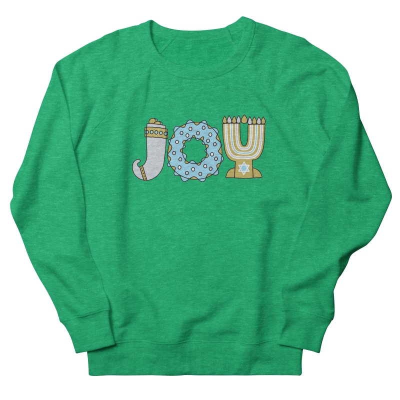 JOY (Hanukkah) Women's Sweatshirt by Hi Hello Greetings