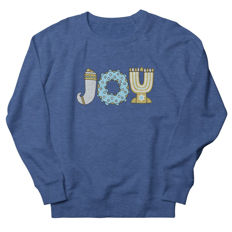 JOY (Hanukkah) Men's Sweatshirt by Hi Hello Greetings