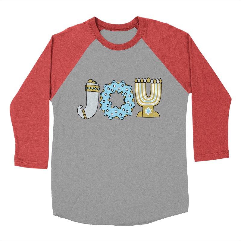 JOY (Hanukkah) Men's Longsleeve T-Shirt by Hi Hello Greetings