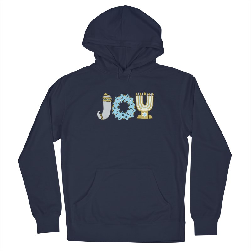 JOY (Hanukkah) Men's Pullover Hoody by Hi Hello Greetings