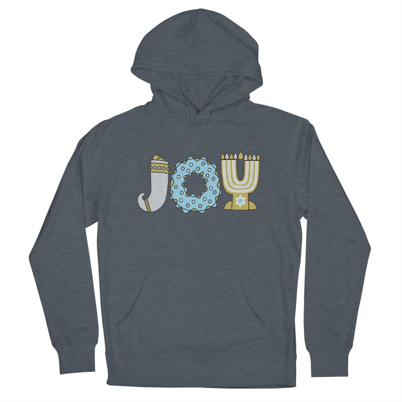 JOY (Hanukkah) Women's Pullover Hoody by Hi Hello Greetings