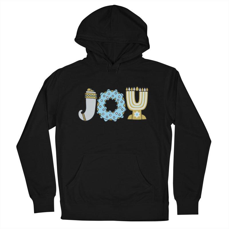 JOY (Hanukkah) Men's Pullover Hoody by Hi Hello Greetings