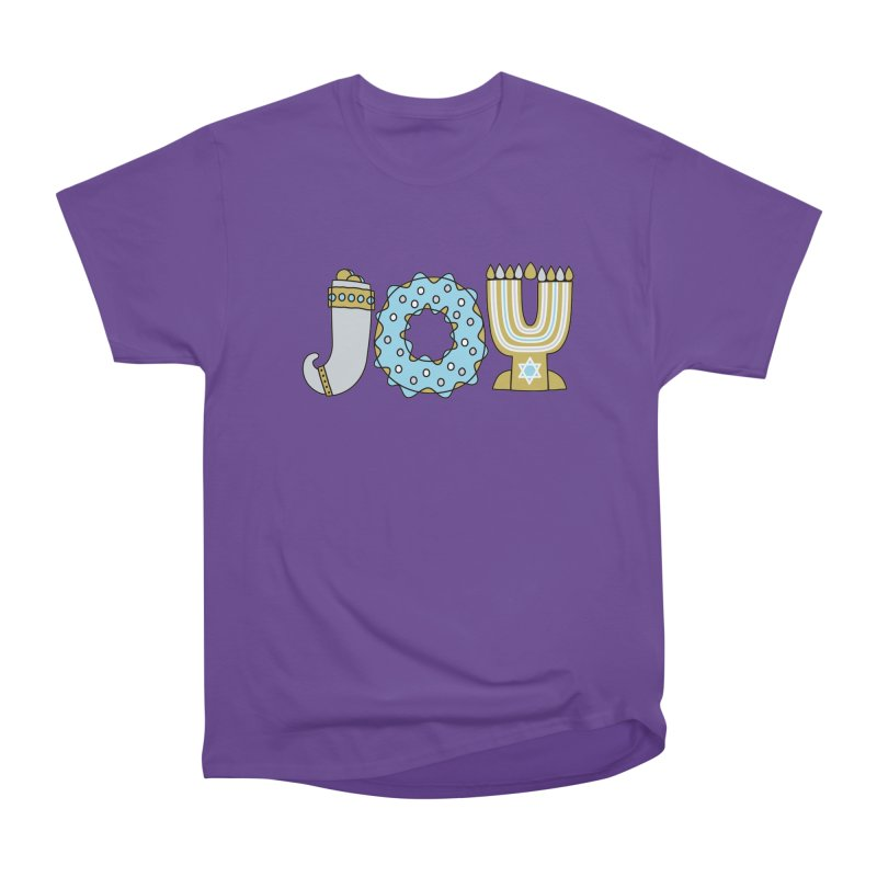 JOY (Hanukkah) Women's Heavyweight Unisex T-Shirt by Hi Hello Greetings