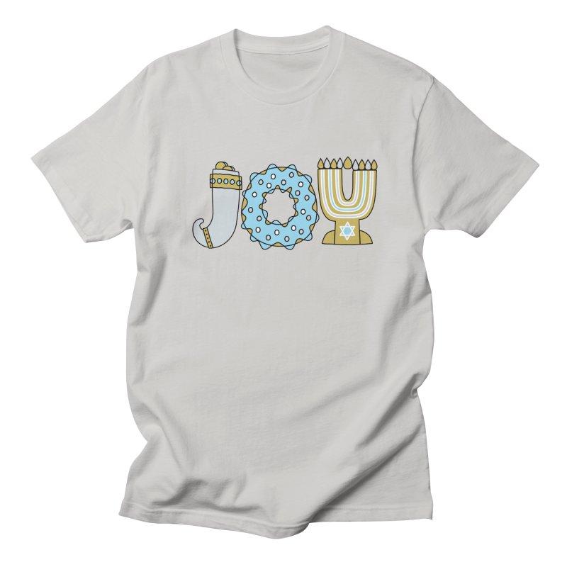 JOY (Hanukkah) Women's Regular Unisex T-Shirt by Hi Hello Greetings