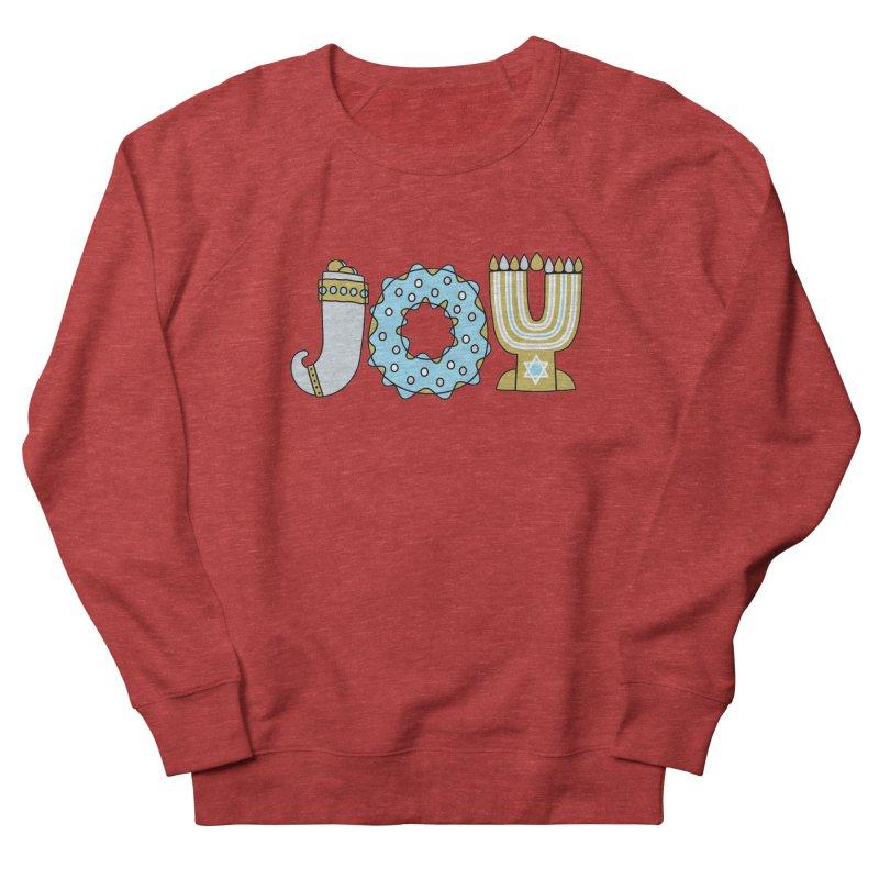 JOY (Hanukkah) Women's French Terry Sweatshirt by Hi Hello Greetings