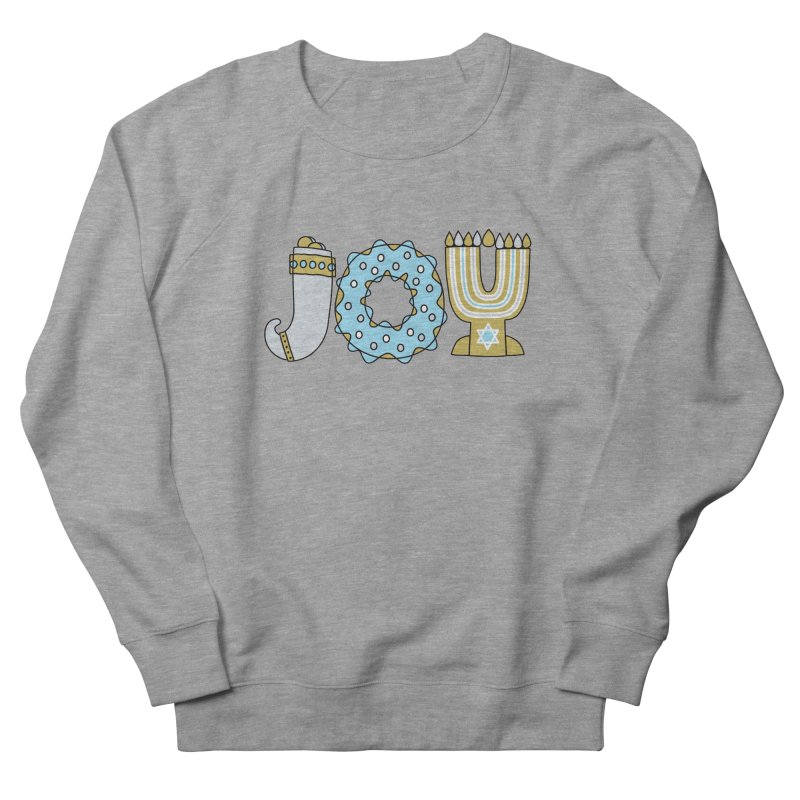JOY (Hanukkah) Men's French Terry Sweatshirt by Hi Hello Greetings