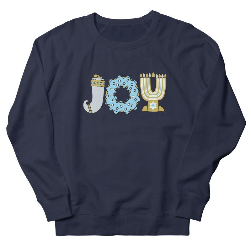 JOY (Hanukkah) Men's Sweatshirt by Hi Hello Greetings