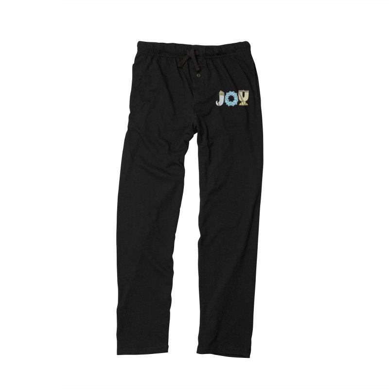 JOY (Hanukkah) Men's Lounge Pants by Hi Hello Greetings