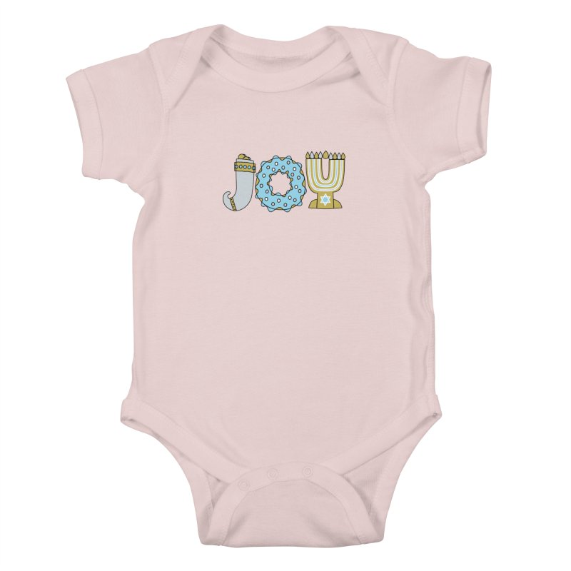 JOY (Hanukkah) Kids Baby Bodysuit by Hi Hello Greetings