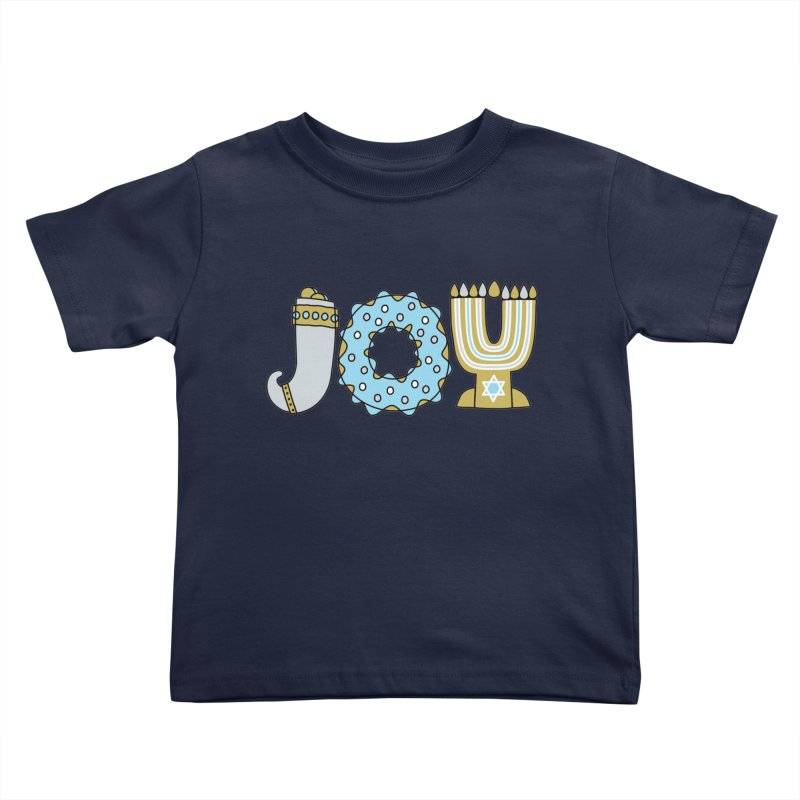 JOY (Hanukkah) Kids Toddler T-Shirt by Hi Hello Greetings