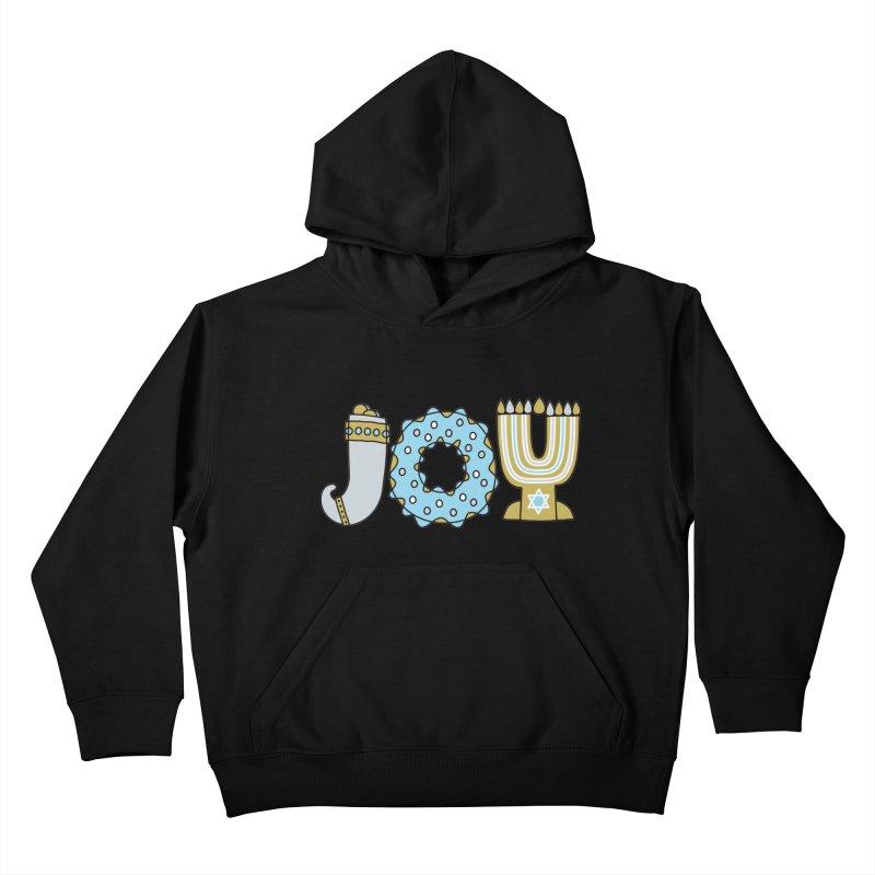 JOY (Hanukkah) Kids Pullover Hoody by Hi Hello Greetings