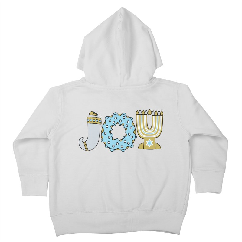 JOY (Hanukkah) Kids Toddler Zip-Up Hoody by Hi Hello Greetings