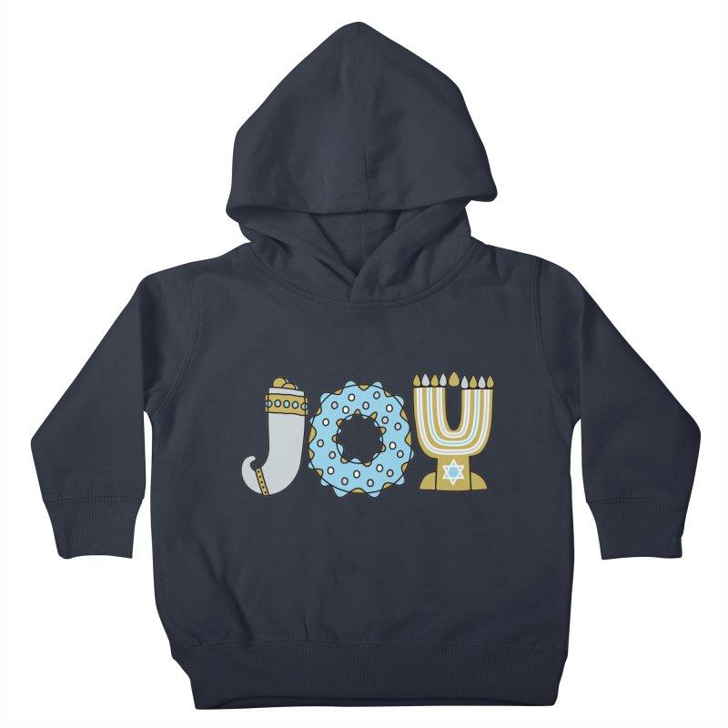 JOY (Hanukkah) Kids Toddler Pullover Hoody by Hi Hello Greetings