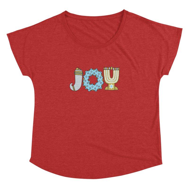 JOY (Hanukkah) Women's Dolman by Hi Hello Greetings