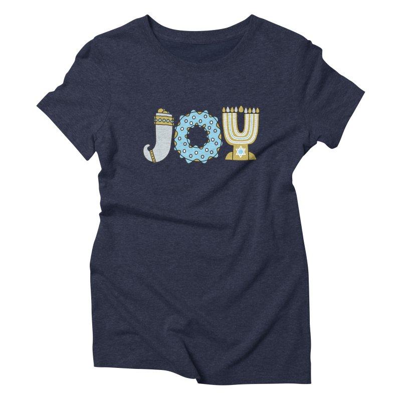 JOY (Hanukkah) Women's T-Shirt by Hi Hello Greetings