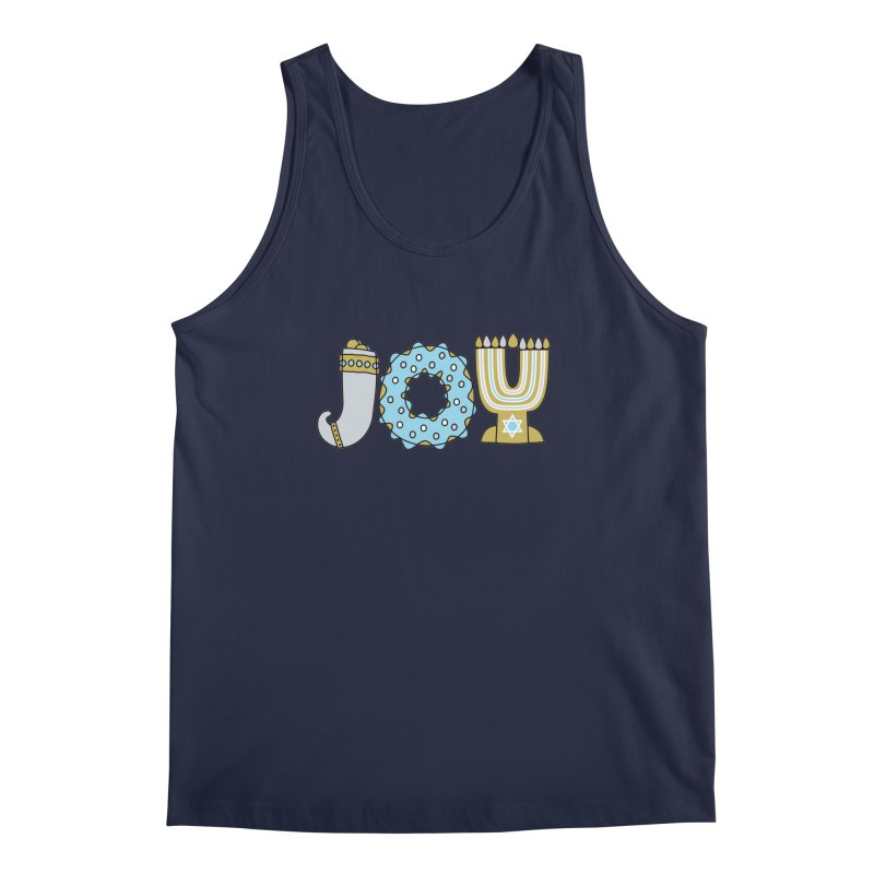 JOY (Hanukkah) Men's Regular Tank by Hi Hello Greetings