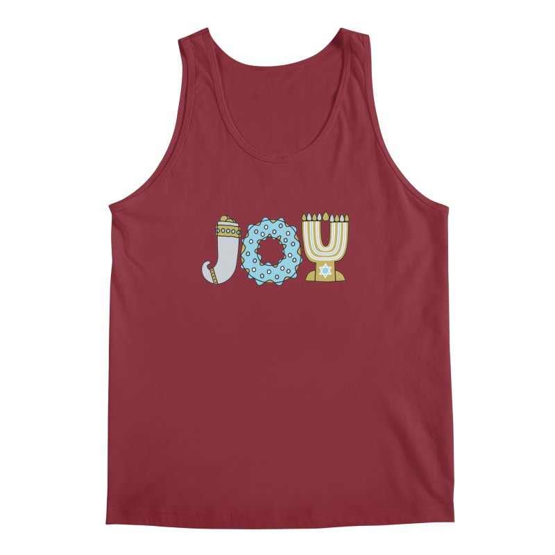 JOY (Hanukkah) Men's Tank by Hi Hello Greetings