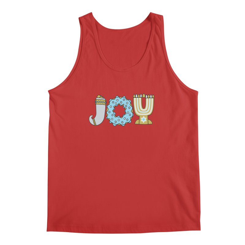 JOY (Hanukkah) Men's Regular Tank by Hi Hello Greetings