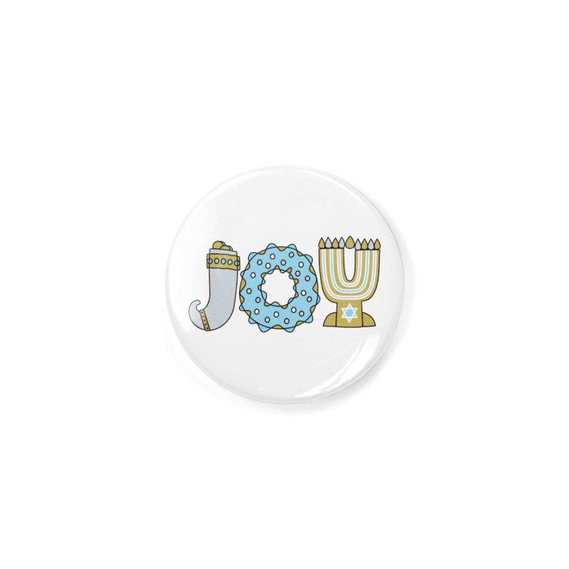 JOY (Hanukkah) Accessories Button by Hi Hello Greetings