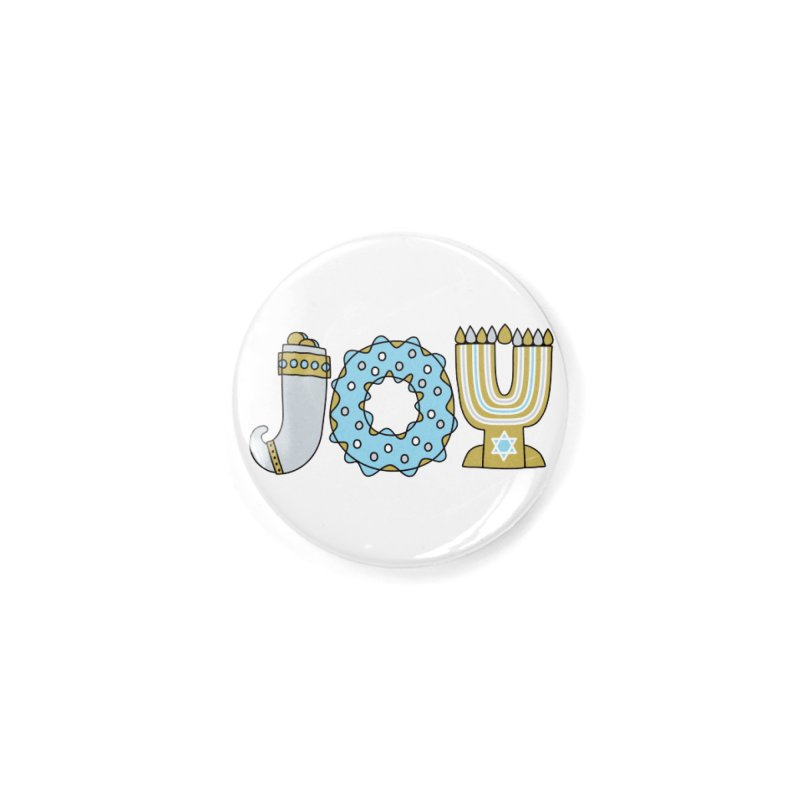 JOY (Hanukkah) Accessories Button by Hi Hello Greetings