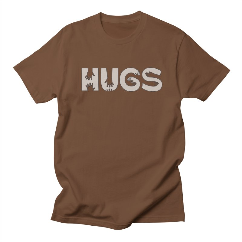 HUGS (B&W) Women's Unisex T-Shirt by Hi Hello Greetings