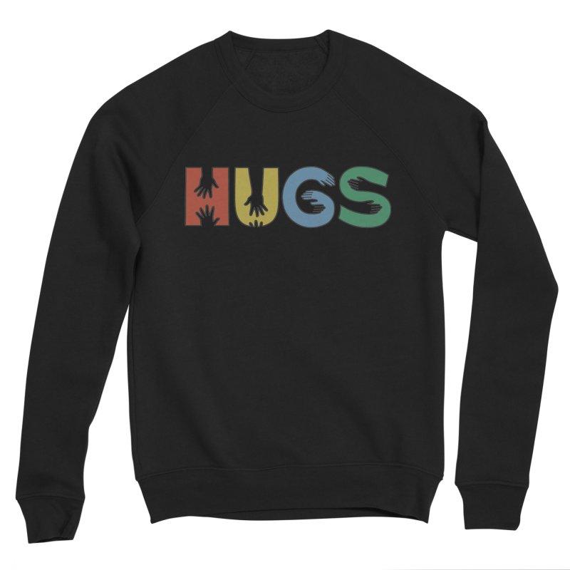 HUGS (Color) Women's Sponge Fleece Sweatshirt by Hi Hello Greetings