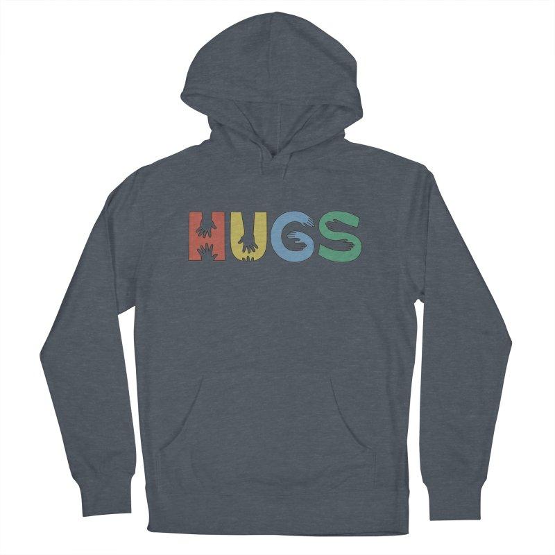 HUGS (Color) Women's Pullover Hoody by Hi Hello Greetings