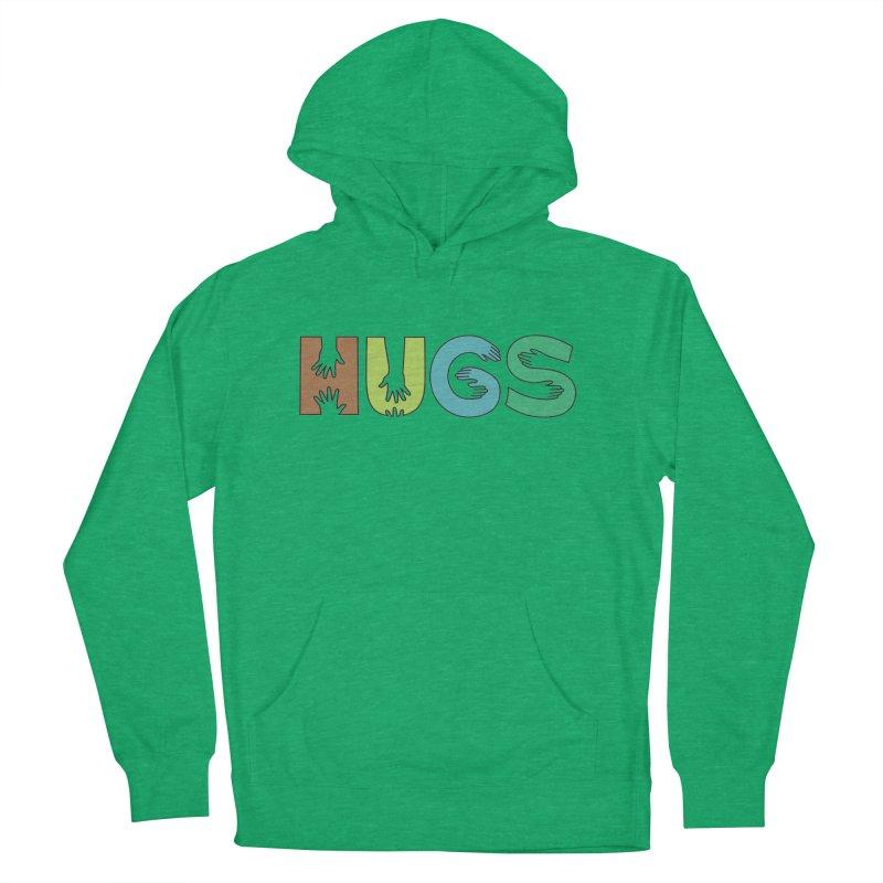 HUGS (Color) Men's Pullover Hoody by Hi Hello Greetings