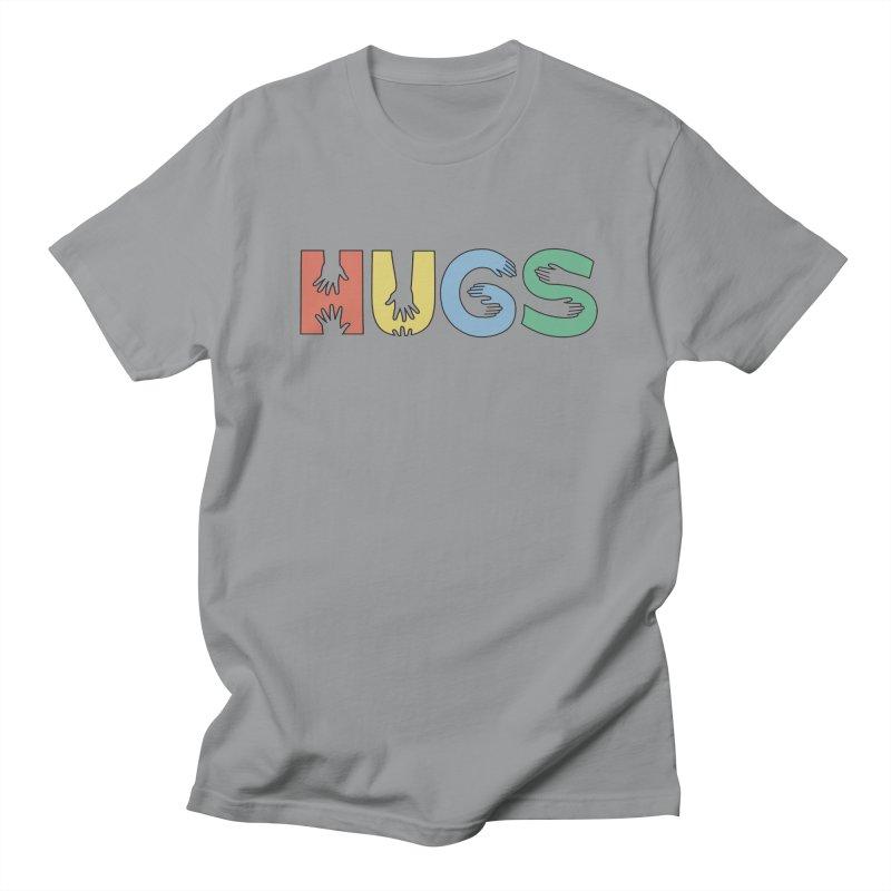 HUGS (Color) Women's Regular Unisex T-Shirt by Hi Hello Greetings