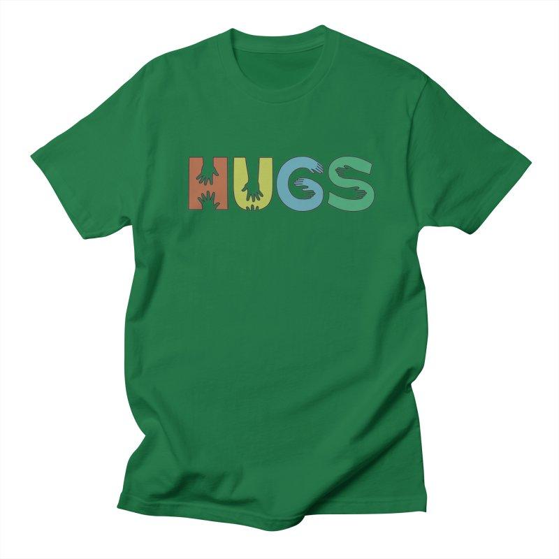HUGS (Color) Men's T-Shirt by Hi Hello Greetings