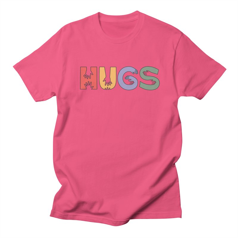 HUGS (Color) Women's Regular Unisex T-Shirt by Hi Hello Greetings