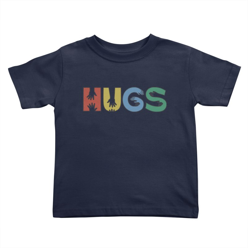 HUGS (Color) Kids Toddler T-Shirt by Hi Hello Greetings